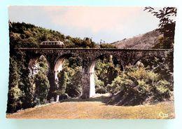 """Cpsm Stock Neuf """" Autorail Des CFD Le Mastrou Sur Le Pont Du Bail"""" Coll C.Schnabel - Matériel"""