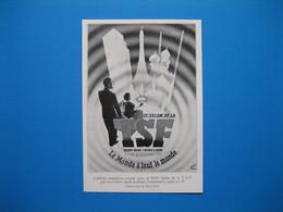 Le 13ème Salon De La T.S.F. Du 3 Au 13 Septembre 1936 - Alte Papiere
