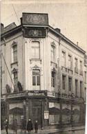 1 Carte  CAFE Continental, Teutonen BRQU Verso/recto WAREMME - Etablissements Industriels Et Commerciaux DOYEN Faute Imp - Waremme