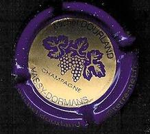 Rare: Capsule Champagne Rosé Michel Dourland Violet Et Or - Champagne