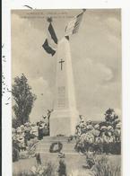 Morhange  Féte Du 20 Aout  Monument ............ - Morhange