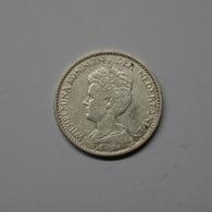 Niederlande 1915 1 Gulden Wilhelmina Silber Ss (M537 - [ 3] 1815-… : Kingdom Of The Netherlands