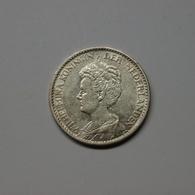 Niederlande 1915 1 Gulden Wilhelmina Silber Ss (M533 - [ 3] 1815-… : Kingdom Of The Netherlands
