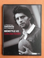 LIVRE MODE COIFFURE MASCULINE L'OREAL  COLLECTION RUGBY MENSTYLE 2 SPORT PHOTOGRAPHIES - Fashion