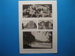 (1936) TANANARIVE (Madagascar) - Document Recto-verso Présentant 8 Illustrations - Alte Papiere