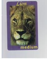 ITALIA (ITALY) - REMOTE - LION KING - ANIMALS MEDIUM - USED - RIF. 10923 - Schede GSM, Prepagate & Ricariche