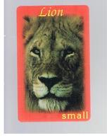 ITALIA (ITALY) - REMOTE - LION KING - ANIMALS SMALL - USED - RIF. 10923 - Italy