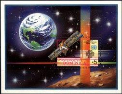 DOMINICA, 1983, WORLD COMMUNICATION YEAR, YV#B.82, MNH - Dominica (1978-...)