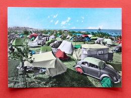 Cartolina Riccione Camping Fontanelle 1960 Ca. - Rimini