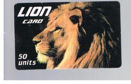ITALIA (ITALY) - REMOTE - LION CARD -   ANIMALS             - USED - RIF. 10929 - Italy