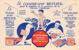PHARMACIEN FABRICANT - LE COMPRESSIF BESLIER A DIGOIN - Santé
