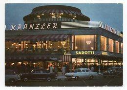 Allemagne--BERLIN -1963---la Nuit--Café  Kranzler  ( Voitures )  -- Cachet  --  Timbre - Allemagne