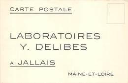 POUDRE ANTISEPTIQUE - LABORATOIRE Y; DELIBES- A JALLAIS MAINE-ET-LOIRE - Santé