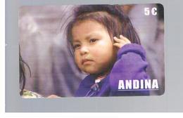 ITALIA (ITALY) - REMOTE - ANDINA - CHILD        - USED - RIF. 10933 - Italy