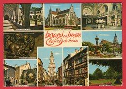 CPM.(01-AIN)-n°1767.- -Bourg-En-Bresse - Èglise De BROU. Multie-Vues. - Eglise De Brou