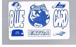 ITALIA (ITALY) - REMOTE - BLUE CARD EXTRA       - USED - RIF. 10934 - Italy