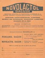 LABORATOIRE DAGUIN- SAINT-MAUR- NOVOLACTOL DAGUIN - Health