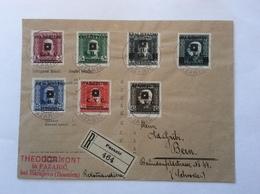 Bosnien Und Herzegowina S.H.S 1919 RARE PAZARIC Cover (SHS  Bosnia Brief Lettre Yugoslavia Jugoslawien Yougoslavie - 1919-1929 Königreich Der Serben, Kroaten & Slowenen