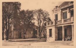 33 - CPSM - SAINT-MEDARD-en-JALLES - L' Eglise - Otros Municipios