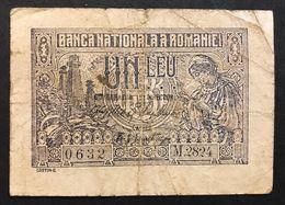 ROMANIA 1915 1 LEU LOTTO 493 - Romania
