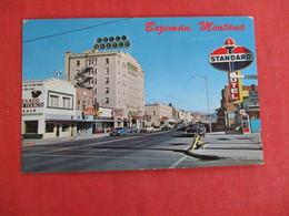 Standard Oil Sign Main Street  Montana > Bozeman---   -- Ref 2935 - Bozeman