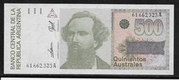 Argentine - 500 Australes - Pick N° 328 - Neuf - Argentine