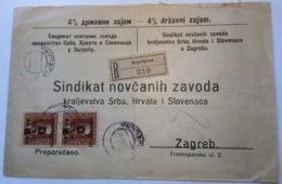 Bosnien Und Herzegowina S.H.S 1919 RARE BIJELJINA  Cover (SHS  Bosnia Brief Lettre Yugoslavia Jugoslawien Yougoslavie - 1919-1929 Königreich Der Serben, Kroaten & Slowenen