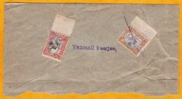 1902 - Portion D' Enveloppe De Dire Dawa, Ethiopie Vers  Aden Via Djibouti  - Affrt 25 C : YT 41 & 42 Annulés Au Crayon - Briefe U. Dokumente