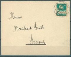 CH - 3.12.1929 - ENVELOPPE -  GOSSAU ST GALL -  Zu 172 Mi 203 - Lot 16605 - Lettres & Documents