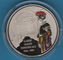 CONGO 5 FRANCS 2006 500 Ans GARDE SUISSE PONTIFICALE 1506-2006 LION - Congo (Democratic Republic 1998)