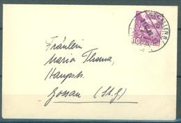 CH - 31.12.1938 - ENVELOPPE -  GOSSAU ST GALL -  Zu 203 Mi 299 - Lot 16606 - Lettres & Documents