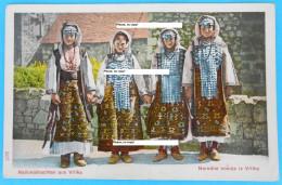 VRLIKA ( Sinj ) - Vrlicka Narodna Nosnja ( Croatia ) * Not Travelled * National Folk Costume Folklorique Volkstracht - Croatia