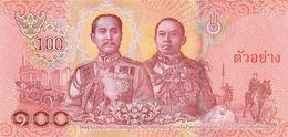 THAILAND  P. NEW 100 B 2018 UNC - Thailand