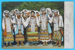 DALMATINSKA NARODNA NOSNJA ( Vrlika ) * Croatia * Travelled 1900's * National Folk Costume Folklorique Volkstracht - Croatia
