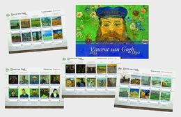 Netherlands 2015 Presentation Pack - Special Presentation Pack - Van Gogh (National) - 2013-... (Willem-Alexander)