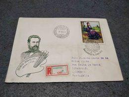 MAGYAR HUNGARY FDC COVER MUNKACSY MIHALY 1966 - Arts