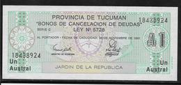 Argentine - Tucuman -  1 Austral - NEUF - Argentine