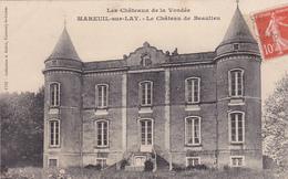 85. MAREUIL SUR LAY. CPA. LE CHÂTEAU DE BEAULIEU. - Mareuil Sur Lay Dissais