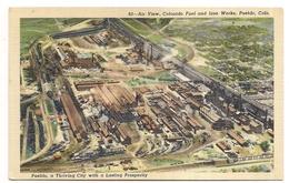 Pueblo , A Thriving City With A Lasting Prosperity , Air View, Colorado - Pueblo