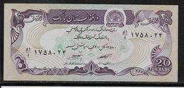 Afghanistan - 20 Afghanis - Pick N° 56 - NEUF - Afghanistan