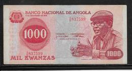 Angola - 1000 Kwanzas - Pick N° 117 - SUP - Angola
