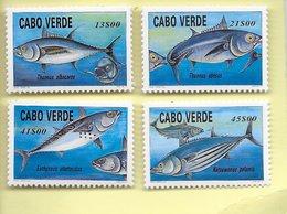 TIMBRES- STAMPS- CAP VERT/CAPE VERDE - CAP VERT -1997- POISSONS - DIFFÉRENTES ESPÈCES D'ATUNS -SÉRIE TIMBRES NEUFS - MNH - Cape Verde