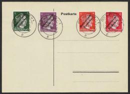 Meißen : 31/4, Komplett Auf Blankobrief, 2.8.45 - Sowjetische Zone (SBZ)