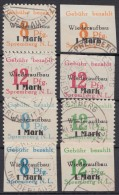 Spremberg : 19/22 A + B, 2 Ausgaben, Je Gezähnt Und Geschnitten, Gebraucht - Sowjetische Zone (SBZ)