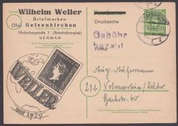"""P 950, Zudruck """"Weller, Gelsenkirchen"""", Bedarf - Gemeinschaftsausgaben"""