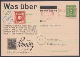 """P 950, Zudruck """"Schmitz, Groß-Bieberau"""", Angebot 31, Selten ! - Gemeinschaftsausgaben"""