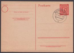 """P 955, Blanko """"Berlin"""", 17.9.47 - Gemeinschaftsausgaben"""