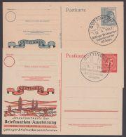 """P 955, 962, 2 Versch. Zudrucke """"Göttingen"""", Je Pass. Sst. - Gemeinschaftsausgaben"""