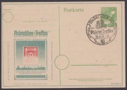 """P 961, Zudruck """"Philatelistentreffen"""" Dresden, 1948 Mit Rahmen, Pass. Sst. - Gemeinschaftsausgaben"""