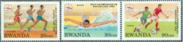 Rwanda COB 1396/98 Olympische Spelen-Jeux Olympiques MNH-postfris-neuf - Rwanda